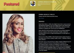 Sophia Bekele DotConnectAfrica Group CEO honored with Awards Across Multiple Continents